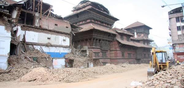 ネパール地震復興支援活動