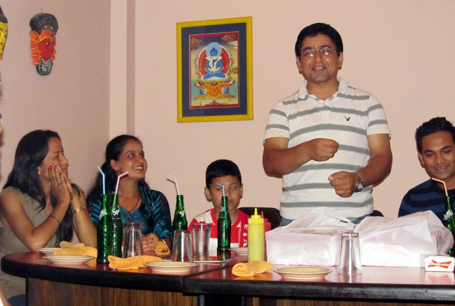 4_Greetings from Honorary Member Nilambar Badal