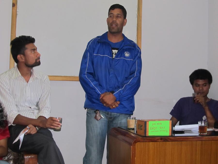 4_Table Topics speaker Kapil Deuja