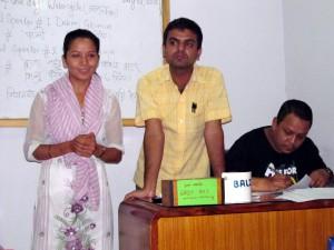 5_Table Topics speaker Kamala Basnet with her speech