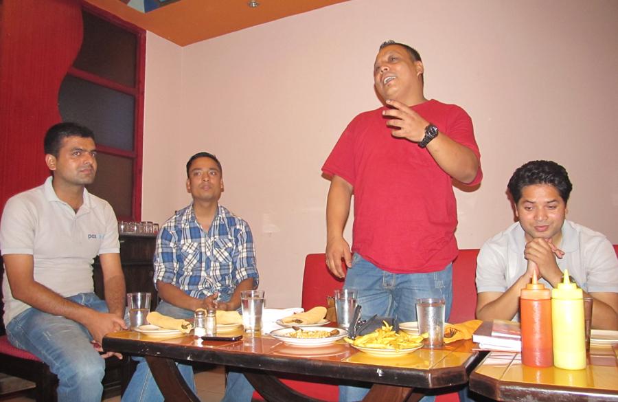 6_Special Address by Treasurer Bal Gopal Shrestha