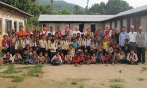 10_Group photo at Shree Raktakali School