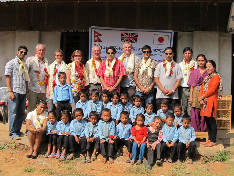 4_Group photo at Shree Kalika Primary School