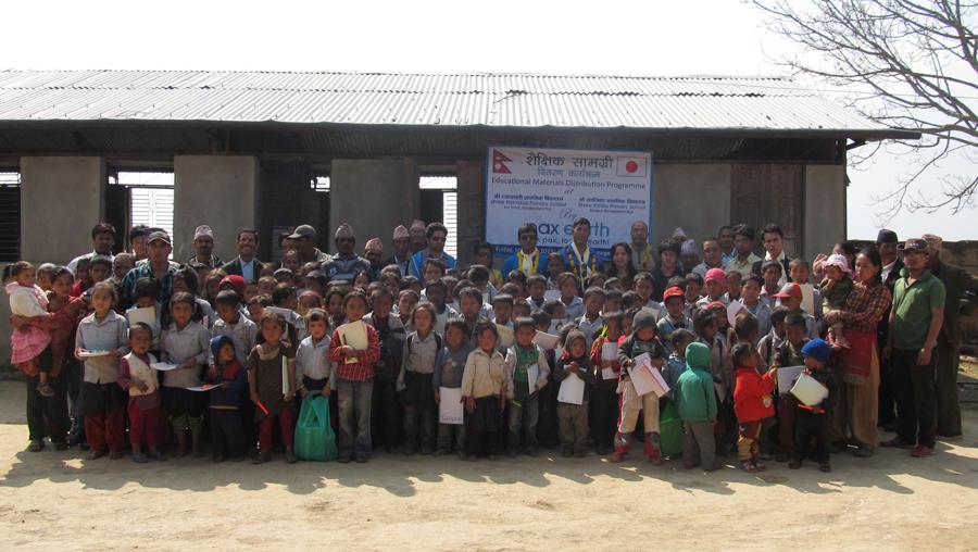6_Group photo at Shree Raktakali Primary School