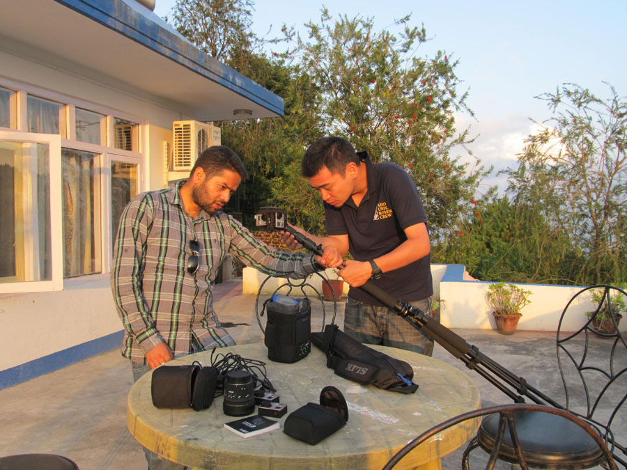 3_Preparation for taking panorama videos