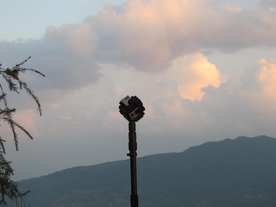 4_Panorama video shooting in Nagarkot