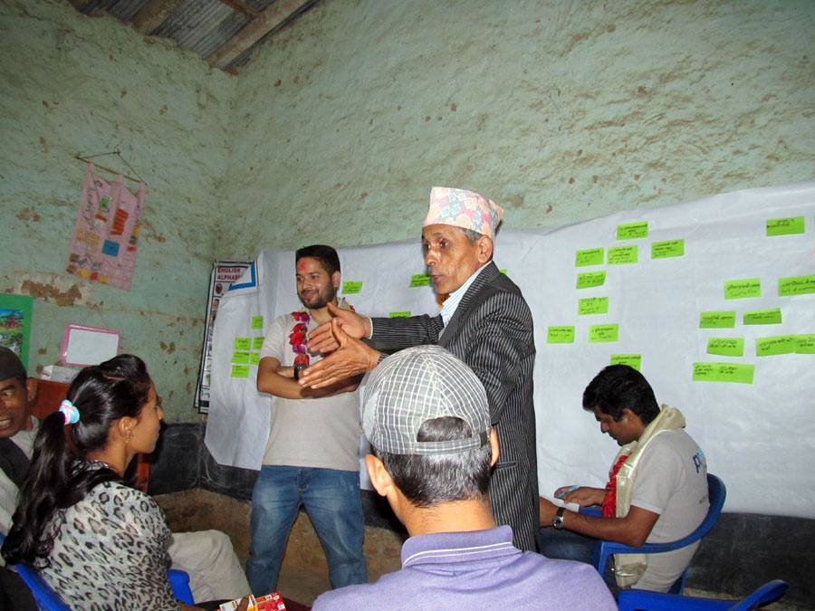 9_PCM Participant Netra Prasad Pathak extending a vote of thanks to Pax Earth