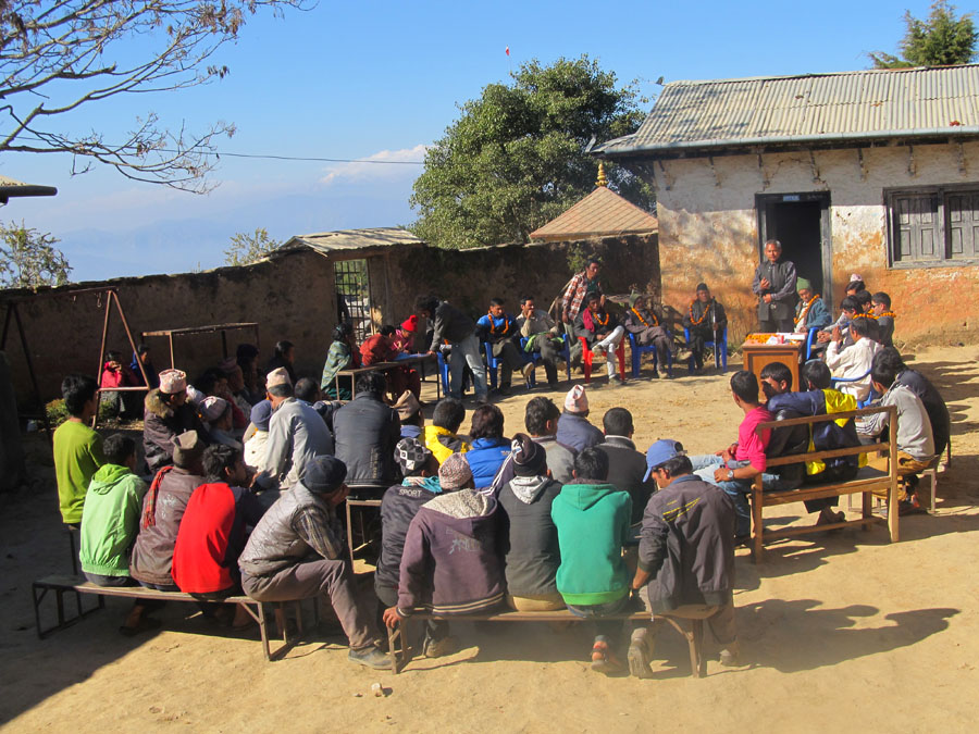 11_Villagers gathering at Kot Timal