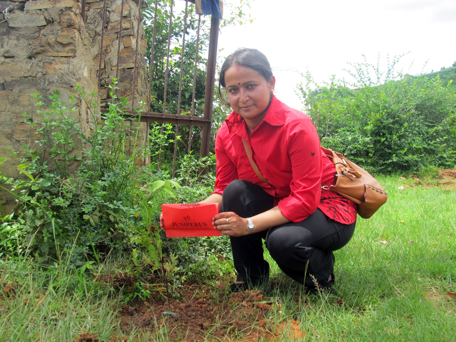 3_Tree plantation @ Seti Devi