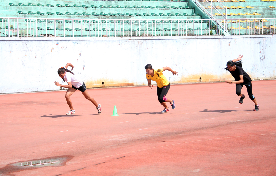 5_Nepali athletes on action