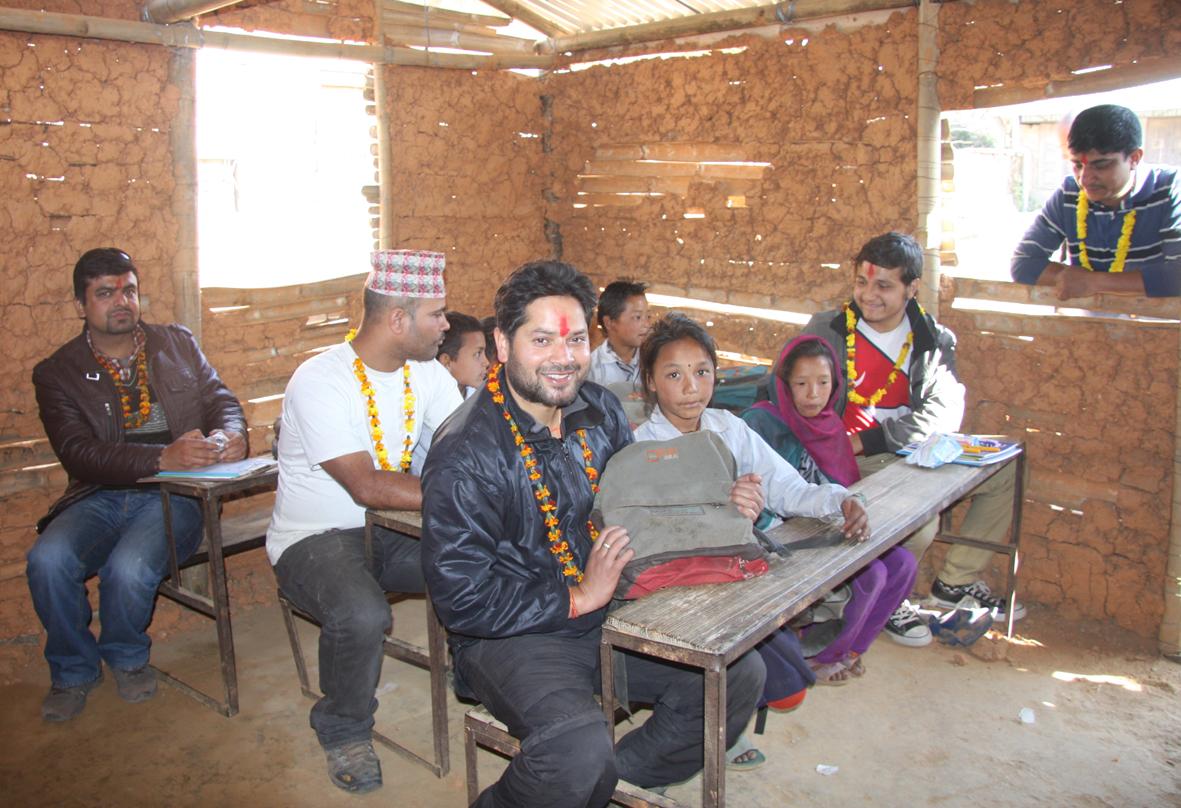 10_Tree plantation handover to Principal at Raktakali school