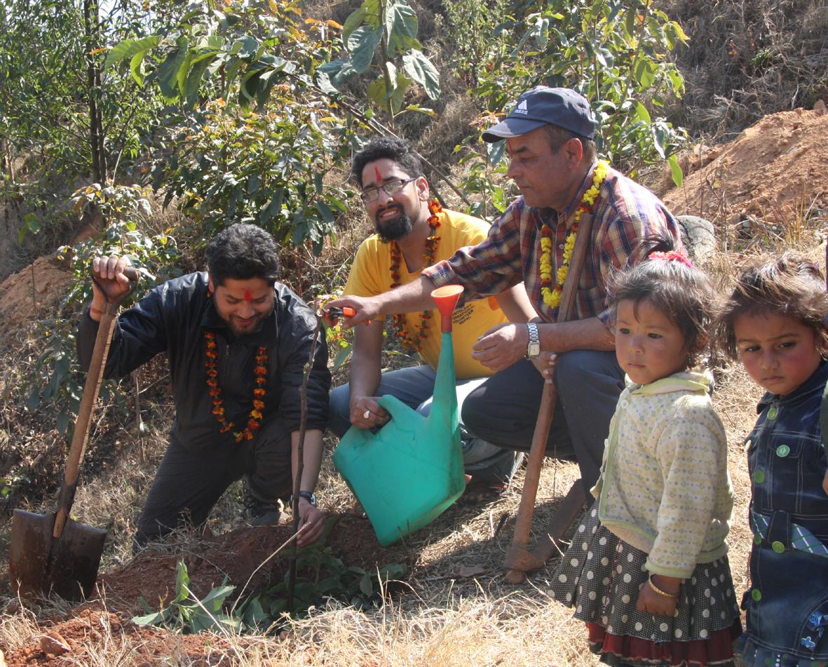 6_Fruit plantation at Kalika school