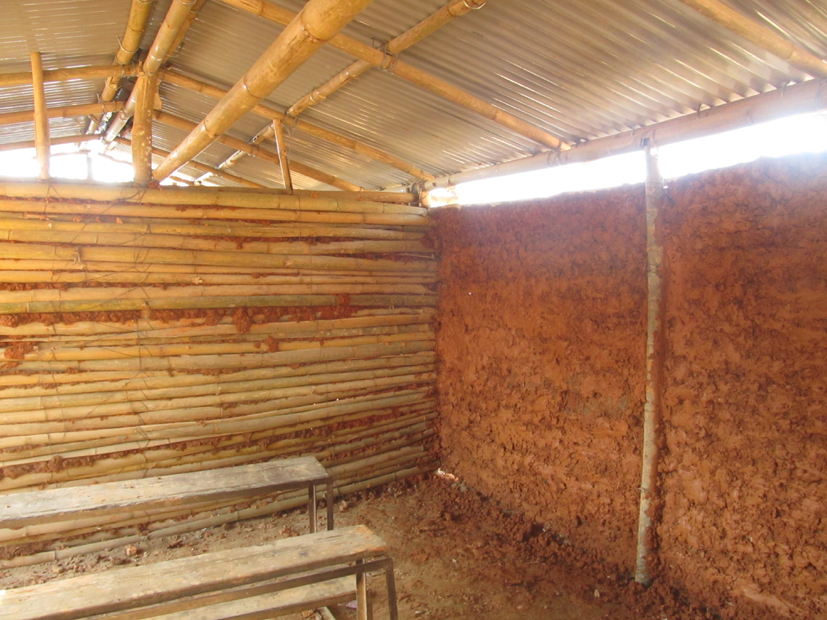 Mud filling at Shree Ratkakali School