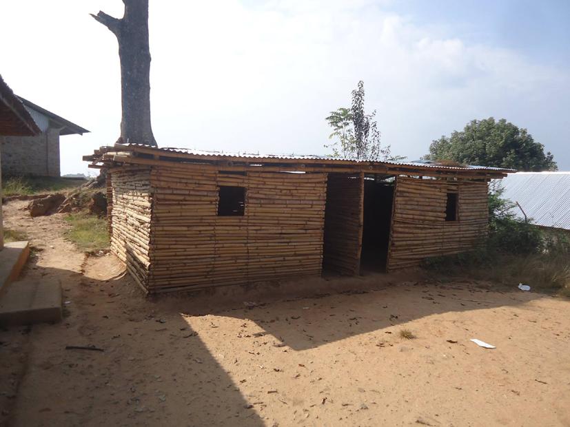 Shree Seti Devi school after mud filling