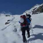 Masaki and Masanobu visited Nepal with a mission to attack Baden Powell Peak (February 20, 2012 to March 28, 2012)