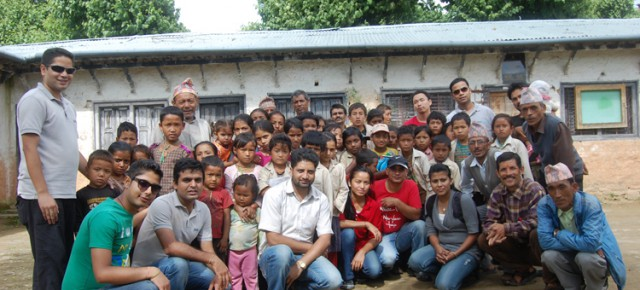 Pax Earth's Historic Tree Plantation in Kavrepalanchok, Nepal