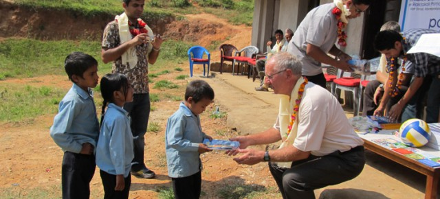 PAX EARTH'S SUPPORT IN EDUCATING POOR AND UNDERPRIVILEGED CHILDREN CONTINUED IN KAVREPALACHOK, NEPAL