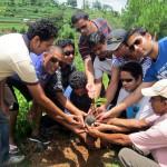 TREE PLANTATION IN KAVRE