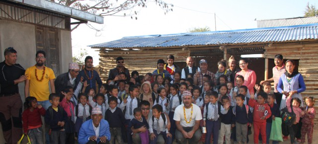 PAX EARTH PROVIDED EDUCATIONAL, HYGIENIC MATERIALS TO EARTHQUAKE AFFECTED STUDENTS AND PLANTED FRUIT PLANTS IN KAVRE