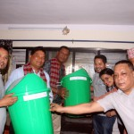 PAX EARTH NEPAL MARKED 9TH ANNIVERSARY DISTRIBUTING DUSTBINS AND CELEBRATING WITH UNDERPRIVILEGED STUDENTS IN KATHMANDU
